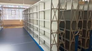 6 tier steel heavy duty metal industrial warehouse racking shelving unit storage
