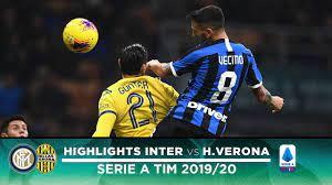 INTER 2-1 HELLAS VERONA | HIGHLIGHTS | Vecino and a stunner from Barella!  ⚫🔵 - YouTube