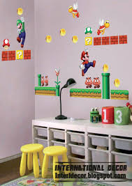 Super Mario Bros Bedroom Decor Nintendo Wall Stickers All About Wall Stickers