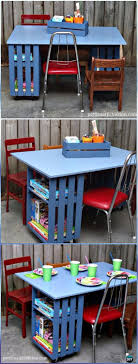 wood crate furniture diy. Diy Kids Crate Table Workstation Wood Furniture Ideas Projects With