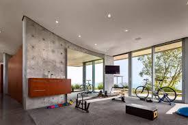 a modern home fitness room design