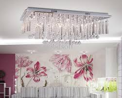 modern luxury k9 crystal ceiling lamp chandelier lights within for bedroom designs 4