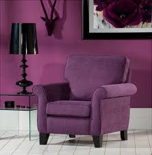 purple accent chair room – home designing