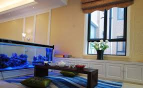 Simple Living Room Fish Tank Small Home Decoration Ideas Amazing