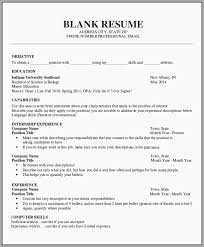 Unique Free Resume Templates To Print Out Best Of Template
