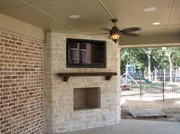 outdoor patio tv mounts designs