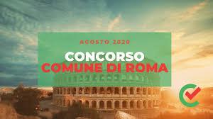 Concorsando.it - Concorso Comune di Roma – 1512 posti disponibili [Agosto  2020]