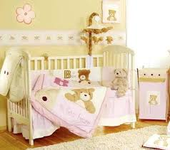 interesting teddy bear crib bedding set picture ideas with baby care bears
