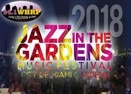 flight 941 is sending you to jazz in the gardens 2018 in miami