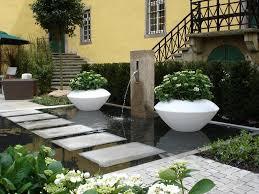 Exterior Garden Design In Classic Outdoor Ideas Pond Metal Fence Extraordinary Exterior Garden Design