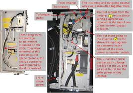 off grid solar power system on an rv recreational vehicle or the ac wiring done in the midnite solar e panel