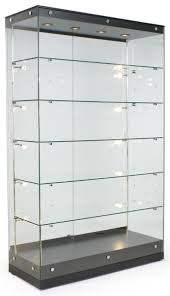 glass display cabinets lockable 81 with