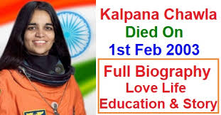 Kalpana Chawla Birth Chart Kalpana Chawla Died On 1st February 2003 Full History