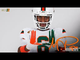 Miami Hurricanes 1 Wide Receiver Secondary Depth Chart