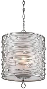 golden lighting 1993 3p ps joia peruvian silver drum hanging light loading zoom