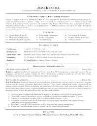 Help Desk Support Resume Desktop Support Resume Examples Help Desk Gorgeous Desktop Support Resume