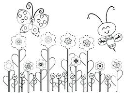 Free Printable Spring Coloring Sheets Pages Mtkguideme