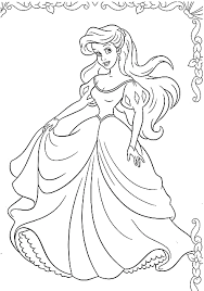 Disegni Da Colorare La Principessa Ariel Al Ballo Wallpapers