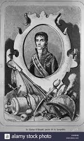 RETRATO DE CARLOS O'DONNELL - 1773/1830 - PADRE DE LEOPOLDO O'DONNELL.  Author: OLIVERAS. Location: BIBLIOTECA NACIONAL-COLECCION, MADRID, SPAIN  Stock Photo - Alamy
