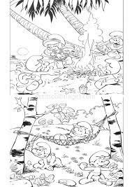 Schtroumpfs 130 Dessins Anim S Coloriages Imprimer