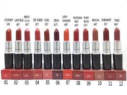 hot new mac makeup lipstick rouge a levres 3g 0 1oz