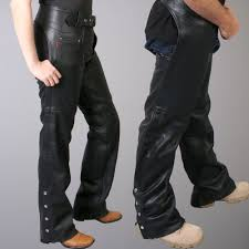 hot leathers best quality uni leather chaps