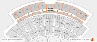 Jones Beach Seating Chart Ga Pit Factual Jones Beach Arena Seating Chart Carol Morsani Hall