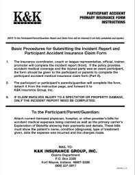 Incident Injury Report Instructions Commack Hoops
