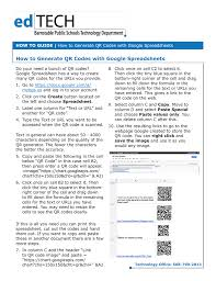 How To Generate Qr Codes With Google Spreadsheets