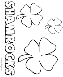 Small Picture St Patricks Day coloring pages Color shamrocks leprechauns