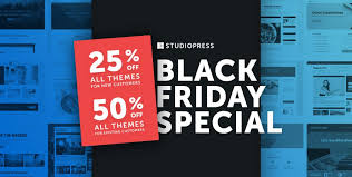 studiopress black friday 2017