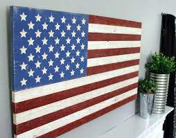 image of flag wall art american united states wooden