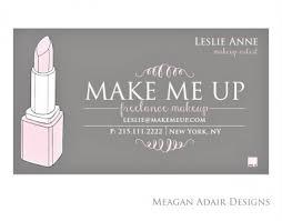 freelance makeup artist business cards