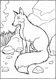Small Picture Fox Coloring Pages for Kids Animal Coloring Pages Pinterest