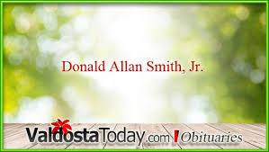 Donald Allan Smith, Jr. | Valdosta Today