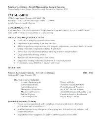 Mechanic Resume Examples Mazard Info