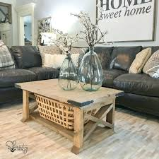 diy living room centerpieces living room table board farmhouse coffee table shanty chic living room side