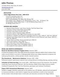 Labor Job Resume Resume For Scholarships High School Template Basic College 92