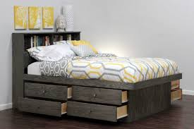 Enchanting Queen Size Platform Bed With Storage Also Red Hook