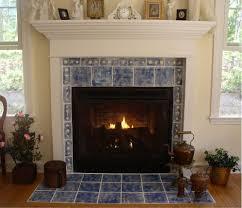 fireplace tile ideas craftsman