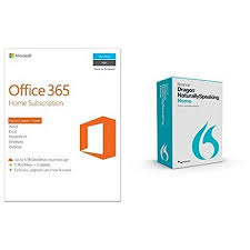 microsoft office 365 home. bundle dragon naturallyspeaking home 13 with microsoft office 365 1 year 5 pc i