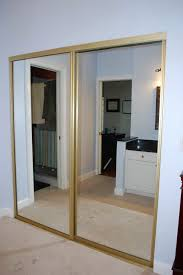 diy mirrored closet door makeover home design ideas