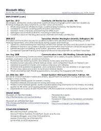 Resume Writers Seattle Free Resume Templates 2018