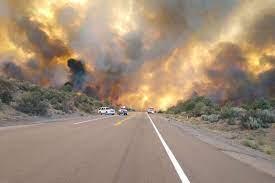 of Emergency declaration for Tamarack Fire