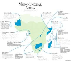 Map Oc Monolingual Africa Countries In Sub Saharan