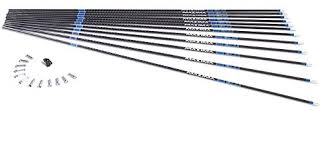 Carbon Express Maxima Blu Rz Carbon Arrow Shaft With Red Zone Technology 12 Pack