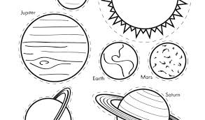 Solar System Coloring Page Pages For Preschoolers Sheets Cremzempme