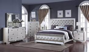 mirrored aaron bedroom set