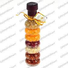 Decorative Vinegar Bottle Send Food Infused Vinegar Bottle of Glass for Kitchen Decoration 52