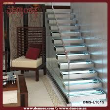 automatic led safety glass stair lighting dms l1015 automatic led stair lighting